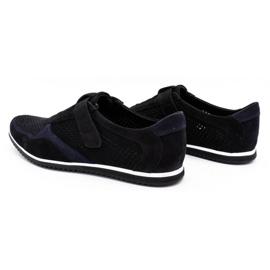 Polbut Men's casual leather shoes 2102 / 2L black 8