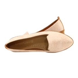 Sergio Leone Lords ballerina pink / gold MK700 golden 4