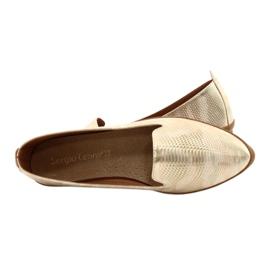 Sergio Leone Lords ballerina beige / gold MK700 green golden 5