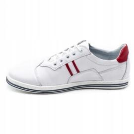 Polbut 1801L white casual men's shoes 1