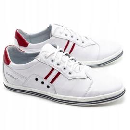Polbut 1801L white casual men's shoes 2