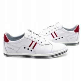 Polbut 1801L white casual men's shoes 4
