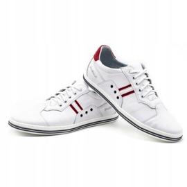 Polbut 1801L white casual men's shoes 5