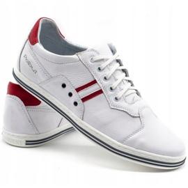 Polbut 1801L white casual men's shoes 6