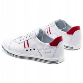 Polbut 1801L white casual men's shoes 7
