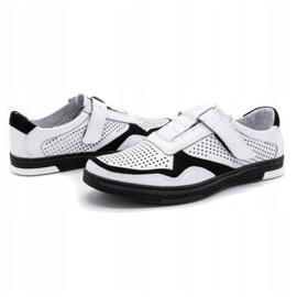 Polbut Men's casual leather shoes 2102L white 6