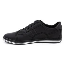 Polbut 1801L black casual men's shoes 1