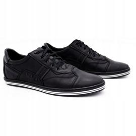 Polbut 1801L black casual men's shoes 2