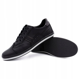 Polbut 1801L black casual men's shoes 3