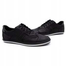 Polbut 1801L black casual men's shoes 5