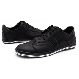 Polbut 1801L black casual men's shoes 6