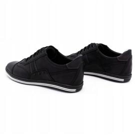 Polbut 1801L black casual men's shoes 7