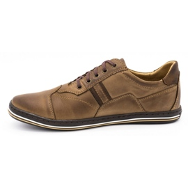 Polbut 1801 brown casual men's shoes 2