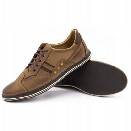 Polbut 1801 brown casual men's shoes 4