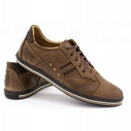 Polbut 1801 brown casual men's shoes 5