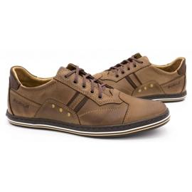 Polbut 1801 brown casual men's shoes 6
