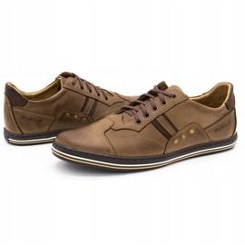Polbut 1801 brown casual men's shoes 7