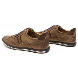 Polbut 1801 brown casual men's shoes 8
