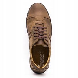 Polbut 1801 brown casual men's shoes 9