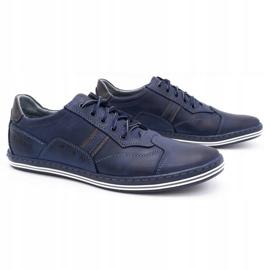 Polbut 1801 navy blue casual men's shoes 2