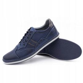 Polbut 1801 navy blue casual men's shoes 3