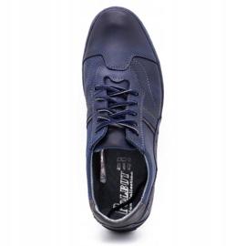 Polbut 1801 navy blue casual men's shoes 8