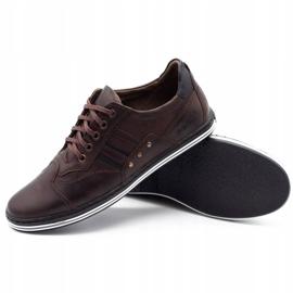 Polbut Men's casual shoes 1801 dark brown 6