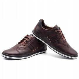 Polbut Men's casual shoes 1801 dark brown 5
