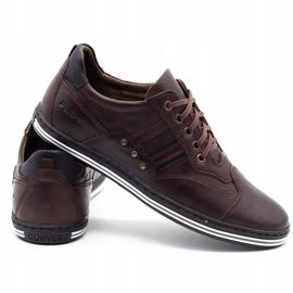 Polbut Men's casual shoes 1801 dark brown 3