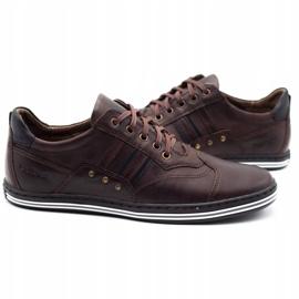 Polbut Men's casual shoes 1801 dark brown 2