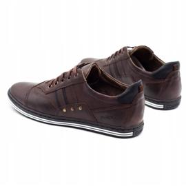 Polbut Men's casual shoes 1801 dark brown 1