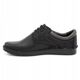 Kampol Men's casual shoes 11/27 black 1
