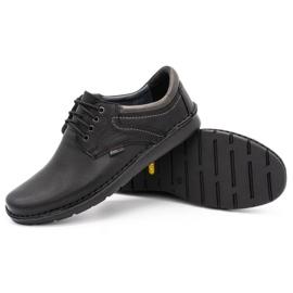 Kampol Men's casual shoes 11/27 black 3