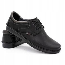 Kampol Men's casual shoes 11/27 black 4
