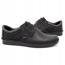 Kampol Men's casual shoes 11/27 black 5