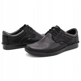 Kampol Men's casual shoes 11/27 black 6