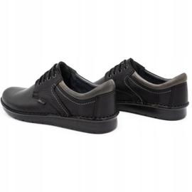 Kampol Men's casual shoes 11/27 black 7