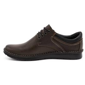 Kampol Casual men's shoes 11 / CZEK dark brown 1