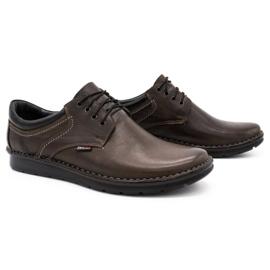 Kampol Casual men's shoes 11 / CZEK dark brown 2