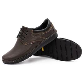 Kampol Casual men's shoes 11 / CZEK dark brown 3