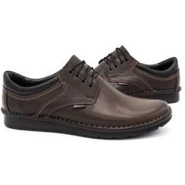 Kampol Casual men's shoes 11 / CZEK dark brown 5