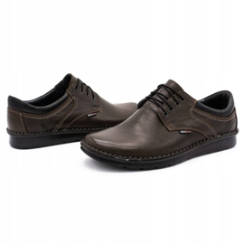 Kampol Casual men's shoes 11 / CZEK dark brown 6