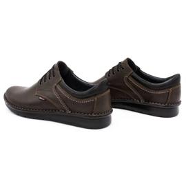 Kampol Casual men's shoes 11 / CZEK dark brown 7
