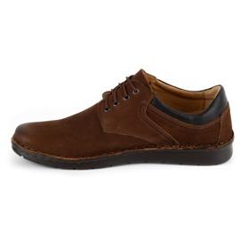 Kampol Casual men's shoes 11 / BR brown 1