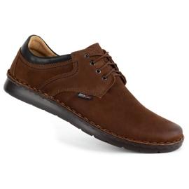 Kampol Casual men's shoes 11 / BR brown 2
