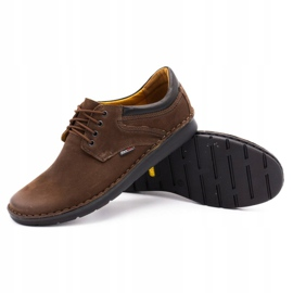 Kampol Casual men's shoes 11 / BR brown 3