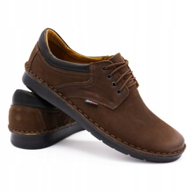 Kampol Casual men's shoes 11 / BR brown 4