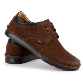Kampol Casual men's shoes 11 / BR brown 5