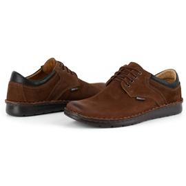 Kampol Casual men's shoes 11 / BR brown 6