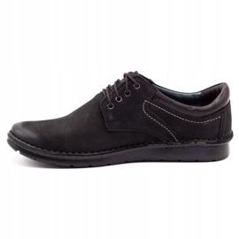 Kampol Casual men's shoes 11/3 black nubuck 2